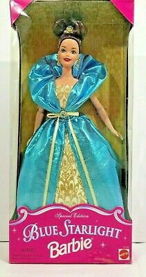 Blue Starlight Barbie Doll Special Edition Collection Mattel Blue Evening Gown • 14.95$