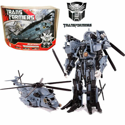 Transformers Blackout Decepticon Voyager Class Robot Helicopter Action Figures • 22.95£