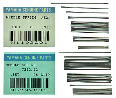 Yamaha Alto And Tenor Saxophone Stainless Steel Needle Spring Sets • 24.49£