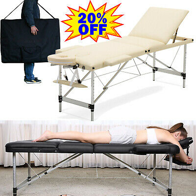 £102.91 • Buy Portable Folding Massage Table Beauty Salon Spa Bed Relax Therapy Luxury Couch ⭐