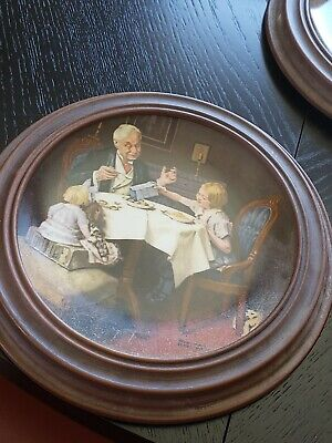 £7.10 • Buy  NORMAN ROCKWELL Collectors Plates Set/5