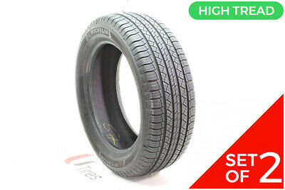 Set Of (2) Used 245/55R19 Michelin Latitude Tour HP 103H - 9.5/32 • 205.41$