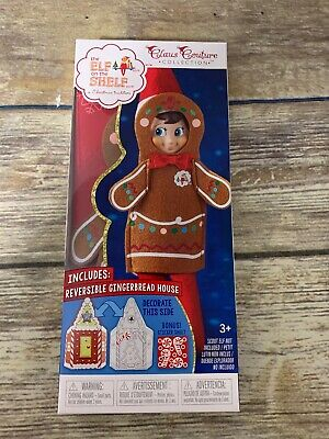 AU18.61 • Buy The Elf On The Shelf Claus Couture Jolly Gingerbread Outfit Activity Set NEW