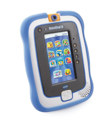 Vtech InnoTab 3 Gel Skin Drop Protector Case Cover In Blue 3-9 Years • 9.99£