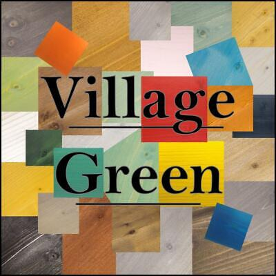 £9.95 • Buy Village Green Ready To Use Wood Stain ~ Water-Based ~ Interior & Exterior Use