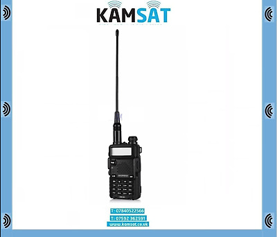 Walkie Talkie BAOFENG DM-5R DRM Digital&Analog Radio VHF UHF Dual Band Tier1&2  • 59.99£