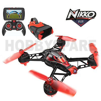 AU97.98 • Buy NEW NIKKO RACE VISION RC FPV RACING DRONE DRL QUADCOPTER W 5.8Ghz FPV CAMERA RTF