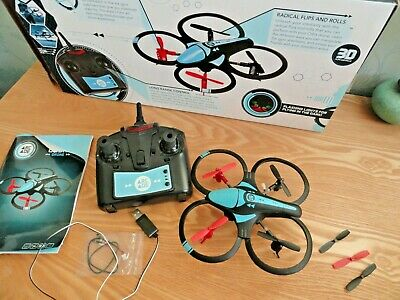 Vgc Boxed Arcade Orbit Drone Radio Controlled Quad Copter With Gyro Stabilizer • 10£
