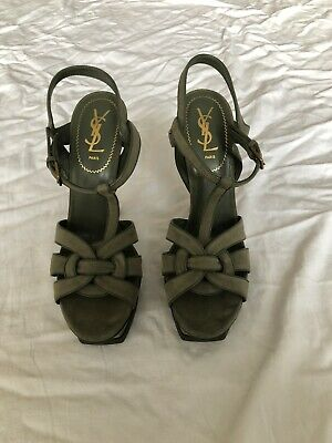 AU300 • Buy Yves Saint Laurent Tribute 2031 Sandals (SIZE EU 40) (ORIGINALLY $1295)