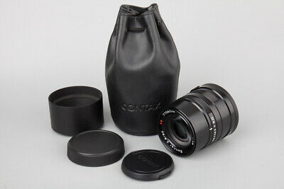 $ CDN557.91 • Buy Contax Carl Zeiss Sonnar 90mm F/2.8 F2.8 T* Lens, Black Edition, Fr G1 G2 Camera