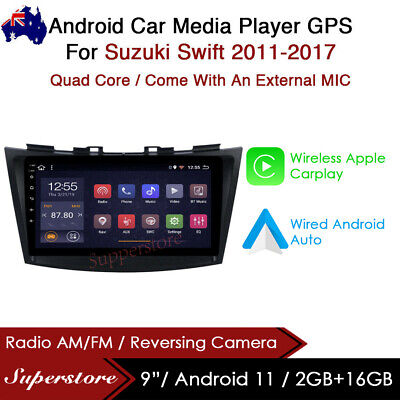 "AU399 • Buy 9"" Android 9.1 Car Stereo Non Dvd Usb GPS Head Unit For Suzuki Swift 2011-2017"