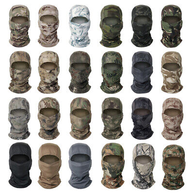£5.69 • Buy Tactical Camouflage Hunting Balaclava Face Mask Army Military Airsoft Sniper Hat