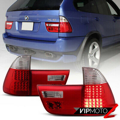 $156.73 • Buy  Factory RED LED  2000-2006 BMW E53 X5 Tail Lights Lamps Replacement SET Parking