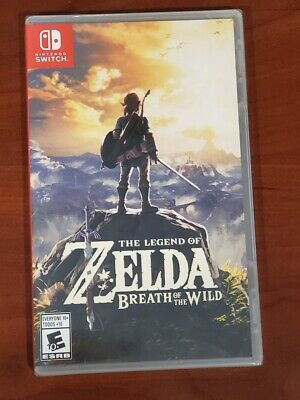 $48.99 • Buy The Legend Of Zelda Breath Of The Wild Switch Game Sealed Brand New USA Version