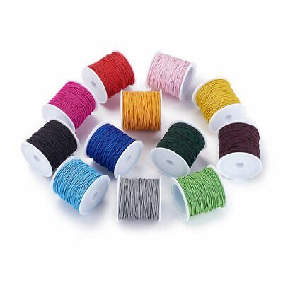 $ CDN19.02 • Buy 21M/Roll Elastic Cord Beading Stretch String Hair Accessories Jewelry Making 1mm