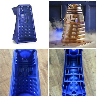 "Doctor Who Dalek Birthday Christmas Cake Giant 12"" Mould Silicone Tin Lakeland • 24.99£"