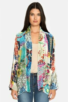 $142.20 • Buy Johnny Was Multicolor Gigi Velvet Kimono Boho Chic C43918 NEW