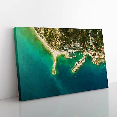 £19.95 • Buy Croatia From Above Canvas Print Wall Art Picture Large Home Decor