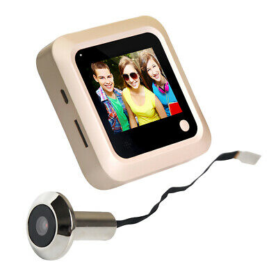 2.4inch Digital Peephole Viewer Screen Door Camera  Color Screen X5 • 22.77£