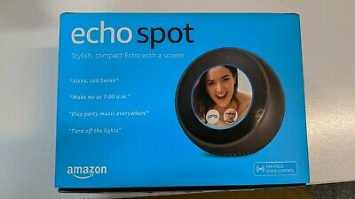 AU110 • Buy Amazon Echo Spot Smart Home Speaker Black