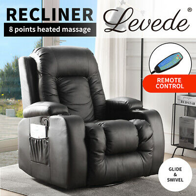 AU499.99 • Buy Levede Electric Massage Chair Zero Gravity Chairs Recliner Full Body Back Neck