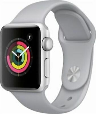 $ CDN323.44 • Buy Apple Watch Series 3 38mm GPS And LTE Unlocked Silver Case/Fog Sport Band In Box