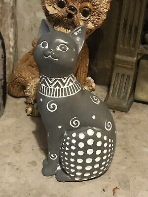 Latex Rubber Mould To Make This Tall Sitting Cat Ornament • 19.95£