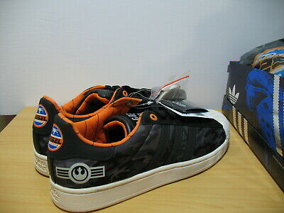 $ CDN220 • Buy Adidas Originals Star Wars Rogue Squadron Superstar II Shoes Size 11 US 10.5 UK