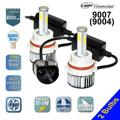 $21.55 • Buy 4-Sides 2x 9007 9004 HB5 COB LED Headlight Kit Hi/Lo Power Bulbs 8000K Icy White