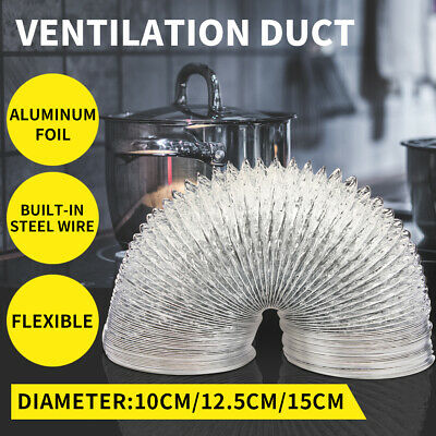 AU17.99 • Buy Exhaust Hose Ventilation Duct Grow Tent Portable Air Conditioner Pipe 5M/10M