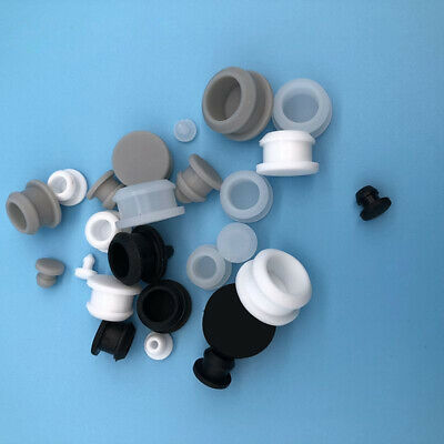 Silicone Rubber Snap-on Hole Plug Blanking End Cap Tube Insert Bung Seal Stopper • 1.66£
