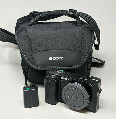 AU502.45 • Buy Sony Alpha A6000 Body Only - Plus Charger & Battery - 5K Clicks!