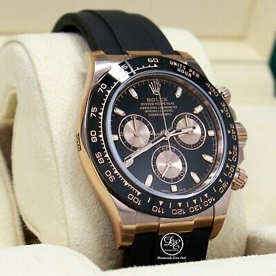 $ CDN46135.70 • Buy Rolex Daytona 116515 18K Rose Gold Cosmograph Oysterflex Watch Unworn Box Papers