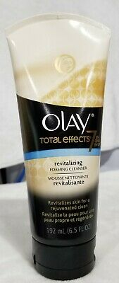 $4.99 • Buy OLAY~TOTAL EFFECTS~7 IN ONE~REVITALIZING~FOAMING CLEANSER~6.5 OZ {192mL}
