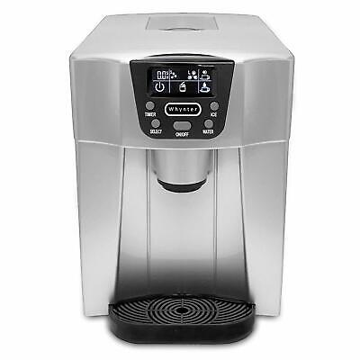 $299.25 • Buy Ice Maker And Water Dispenser Silver IDC-221SC Countertop Direct Connection NEW