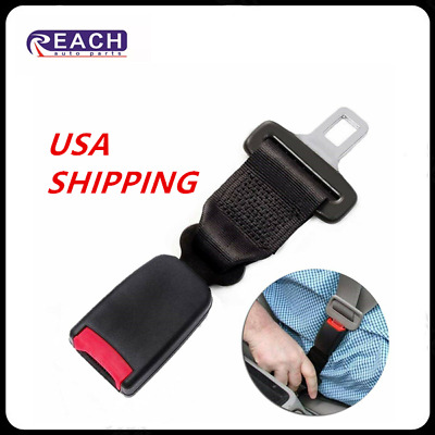 $11.68 • Buy Universal Car 8 Inch Safety Seat Belt Extender Extension 7/8 Inch Clip Buckle