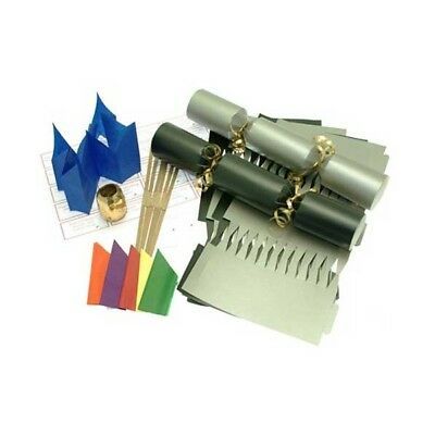 Make Your Own Large 14  Black & Silver Christmas / Wedding Cracker Kits Crafts • 9.99£