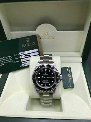 $ CDN14266.57 • Buy Rolex Submariner 14060 Black Dial Stainless Steel Box Papers Very Rare 2012