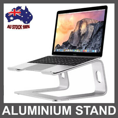 "AU45.99 • Buy Portable Aluminium Laptop Stand Tray Holder Cooling Riser For 11""-15.4"" MacBook"