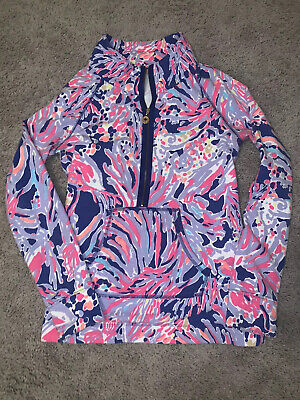 $50 • Buy Lilly Pulitzer Skipper Popover Size Small Shrimply Chic