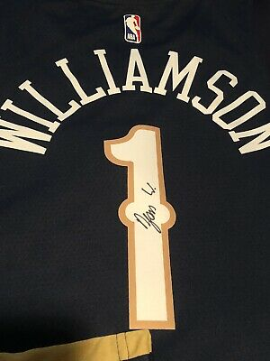$399.99 • Buy Zion Williamson Signed New Orleans Pelicans Authentic Jersey Proof