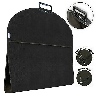 Garment Suit Travel Bag Dress Clothes Cover Foldable Carrier With Handle • 12.99£