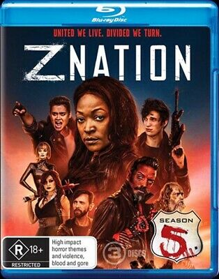 AU24.95 • Buy Z Nation : Season 5 (Blu-ray, 3-Disc Set) NEW