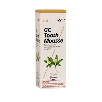 AU25.60 • Buy Gc Tooth Mousse Plus Vanilla Topical Tooth Cream W Recaldent 1 Tube Of 40 Gm