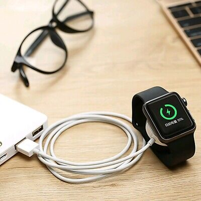 $ CDN5.38 • Buy Magnetic Charging Dock USB Cable Charger For Apple Watch IWatch Series 1 2 3 4