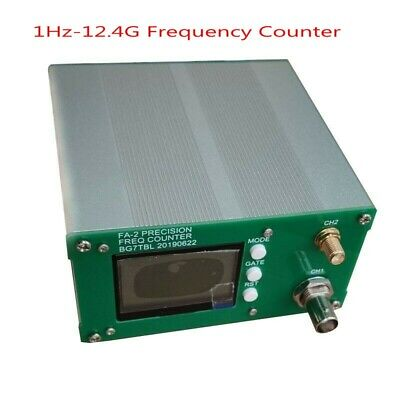 $ CDN247.51 • Buy FA-2 1Hz-12.4GHz Frequency Counter Kit Frequency Meter Statistical 11 Bits/sec