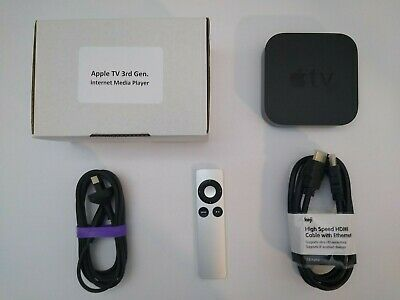 AU125 • Buy Apple TV (3rd Generation) HD Media Streamer - A1469 (READ CONDITION DESCRIPTION)