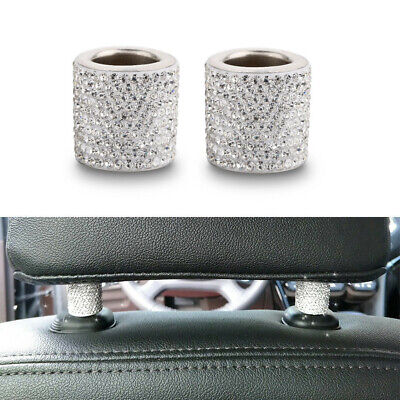 $6.99 • Buy 2PCS Accessories For Women Car Interior Accessories Car Charms Headrest Collars