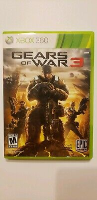 $6.07 • Buy Gears Of War 3 (Microsoft Xbox 360, 2011) Complete With Manual