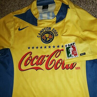 $100 • Buy Nike Club America Jersey Home Campeon 2005
